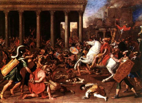 Destruction of God's Temple in Jerusalem in 70 AD (start of the Great Tribulation)