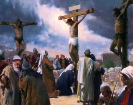 There were two thieves crucified with Jesus.