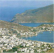 Island of Patmos where the Apostle John wrote the Book of Revelation or Apcalypse.
