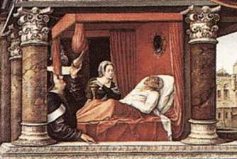 the foreshadowing of death in the story the parable Other significant factors in this story are the use of biological metaphors and foreshadowing allegory & parable short story elements  brings death and.